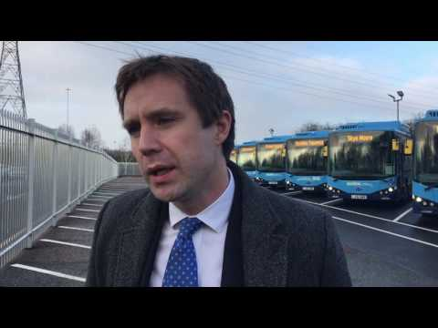 New electric buses power Nottingham's clean air ambitions