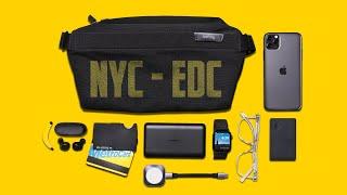 My EDC Tech Bag 2020 - Ultra Minimal Everyday Carry - New York City Edition!