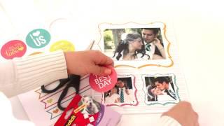 """I Love Us"" DIY Printable Love Book"