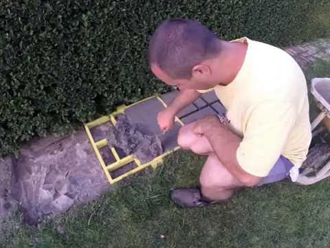 How to repair cobblestone-look walkway