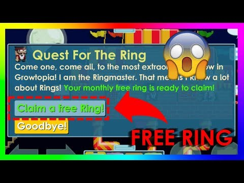 How to get a Carnival Ring for FREE 💍 - Growtopia