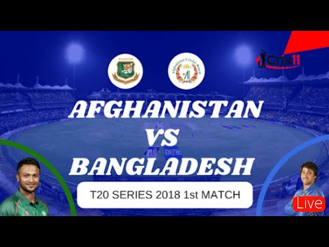 Afghanistan vs Bangladesh 1st match T20 Live Cricket | t20 live match today g tv live.