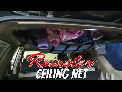 TG Raingler Ceiling Net Install