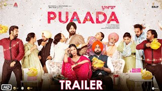 Puaada   Official Trailer   Ammy Virk   Sonam Bajwa   12 August   Punjabi Movie 2021