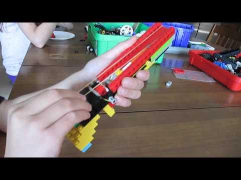Cool Lego Rubber Band Gun