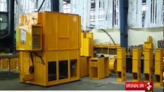 Iran made Animals & Birds waste Recycling machine make fertilizer دستگاه كود حيواني ايران