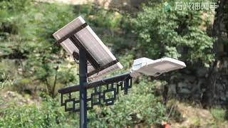 Hot sale Smart solar powered street lights projects 2020 we did and reviews