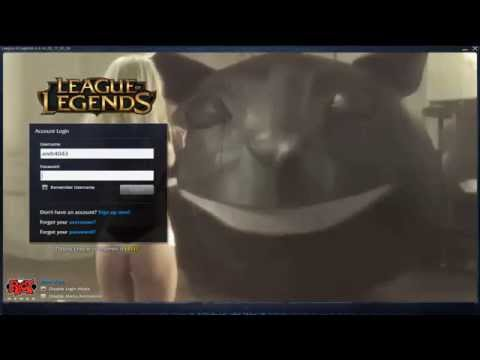 French Maid Nidalee - Custom Login Screen League of Legends