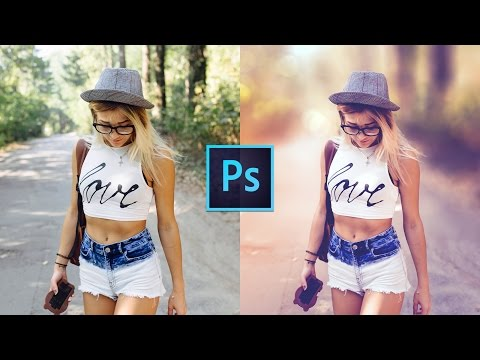 How to edit a photo | Retro Effect | Photoshop Tutorial | CC 2017