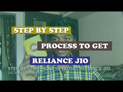 Step By Step Process To Get Reliance Jio Sim [Explained]