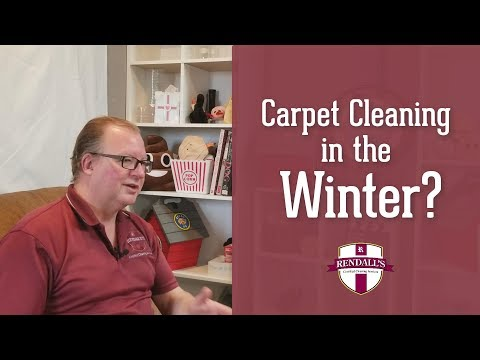 Getting carpets cleaned in the winter - When is the best time to get my carpets cleaned?