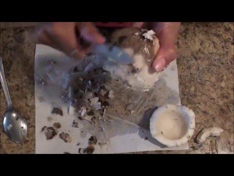 Making Coconut Cream & Coconut Oil