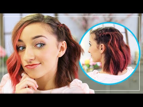 Bailey's DIY Side Frenchback | Short Hairstyle Ideas