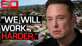 Elon Musk says Australia's energy emergency is easily fixable - Part one | 60 Minutes Australia