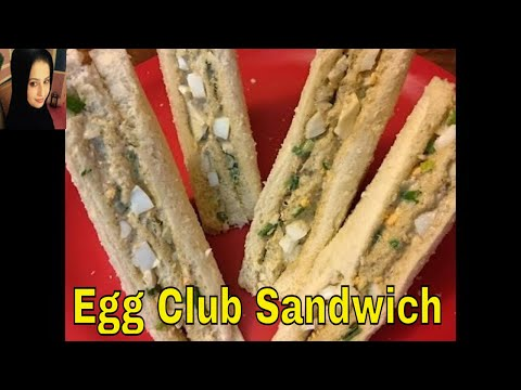 Egg Club Sandwich | How to make Egg Sandwich ✅😊