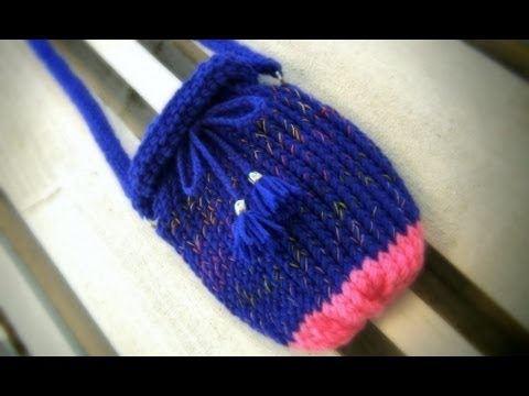Loom Knit Purse