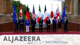 G7:  A brief look at the Taormina summit