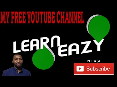 FREE Youtube Channel Trailer Created With PowerPoint l ✔