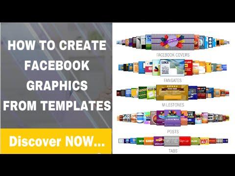 Easy Facebook Cover Design Templates to Create Facebook Graphics