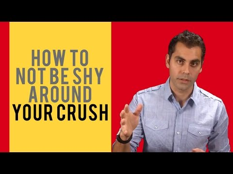 How To Not Be Shy Around Your Crush