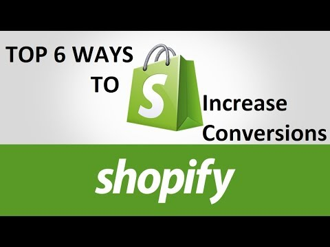 6 Ways To Increase Sales On Shopify Dropshipping