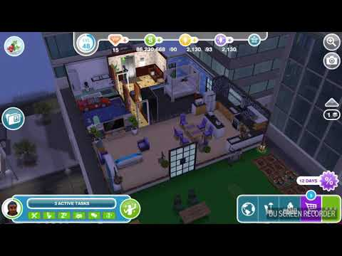 The Sims Freeplay - Place Candle - Snow Problem Quest