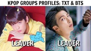 Download KPOP GROUPS PROFILES | TXT & BTS Video