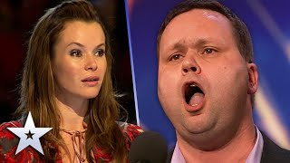 Paul Potts SHOCKED the nation with AMAZING vocals   Unforgettable Audition   Britain's Got Talent
