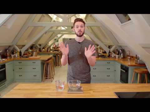 How To Measure Ingredients When Using A Measuring Jug By John Whaite - Bake With Stork