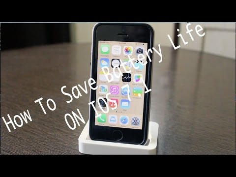 How To Save Battery Life On IOS 7.1