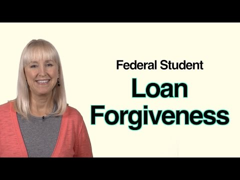 Federal Student Loan Forgiveness? Not Exactly...