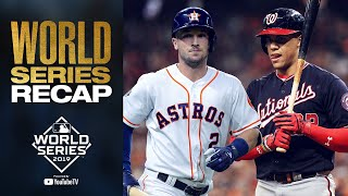 Nationals and Astros battle it out for 7 games! | 2019 World Series Full Recap + Highlights