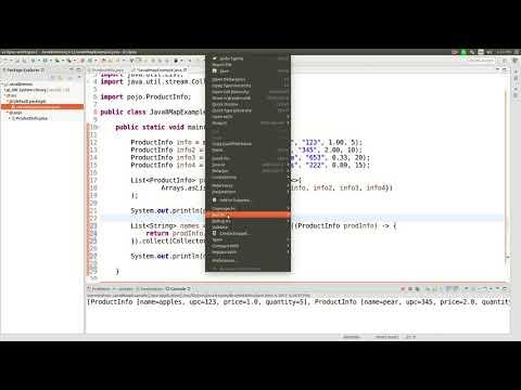 Java 8 streams map function tutorial