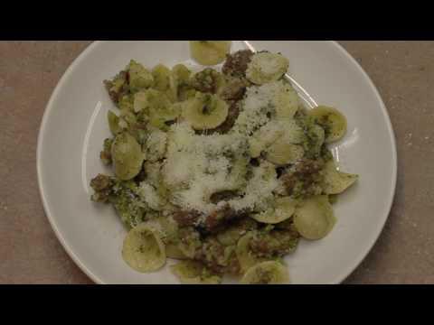 Broccoli Sausage Orecchiette with Michael's Home Cooking