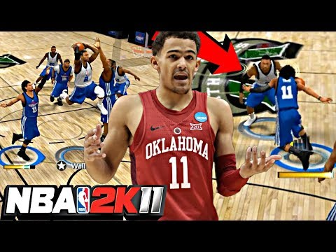 NBA 2K11 MyPLAYER TRAE YOUNG #3 - ROOKIE JOHN WALL BROKE MY ANKLES AND EXPOSED MY DEFENSE!