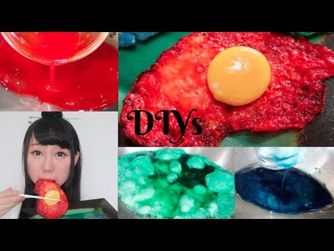DIY Making Colorful Fried Eggs! Edible! Why I've Have Been Gone?