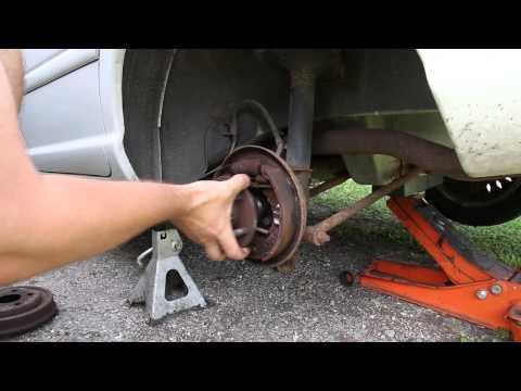 Neon Rear Wheel Bearing Replacement