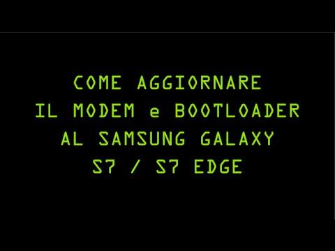 AGGIORNARE BOOTLOADER e MODEM al GALAXY S7 EDGE G935F BL+CP