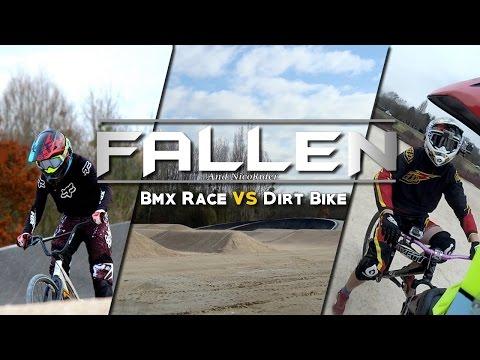 ★Bmx Race VS Dirt Bike★ Le duel : Fallen and NicoRider |VTT DIRT| MTB - EDIT