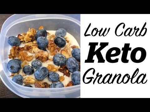 How to Make Low Carb Keto Granola | Keto Breakfast