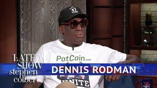 What Do Dennis Rodman And Kim Jong-Un Talk About?