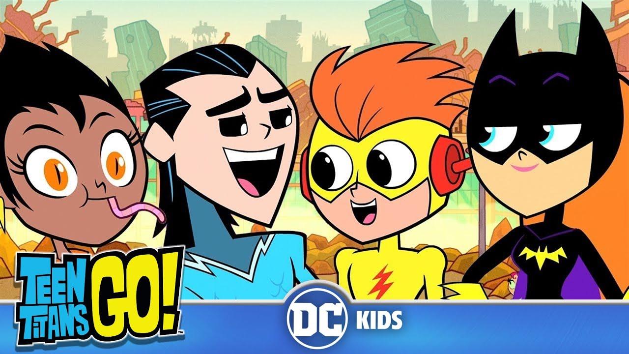 Teen Titans Go! auf Deutsch | Jump Stadthelden | DC Kids