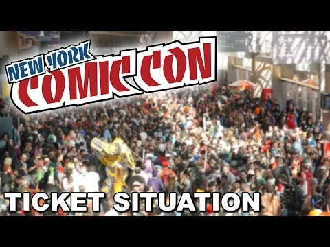 New York Comic Con 2014 Ticket Situation