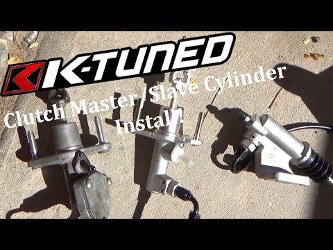 K-Tuned CMC/Slave Install! | (06-11) Civic Si