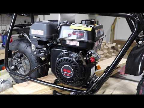Mini Bike Restoration : Part 3 Paint, Brakes & Motor Update DoodleBug