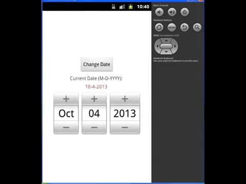 How to create DatePicker in Android to select day, month and year 177