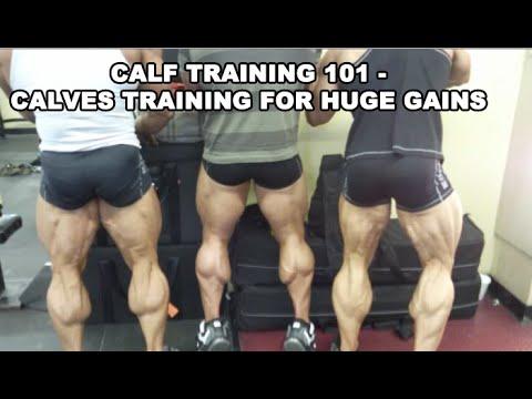 Calves Training for Huge Gains - Ben Pakulski and Brandon Crowe
