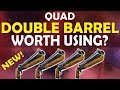 QUAD DOUBLE BARREL SHOTGUN IS IT WORTH USING Fortnite Battle Royale