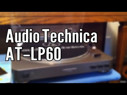 Review Audio Technica AT-LP60 Stereo Turntable
