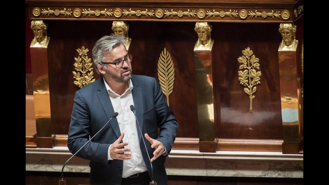 """""""3 ans de mandat, 3 ans de combats face à la politique de Macron !"""" Alexis Corbière, Député LFI."""